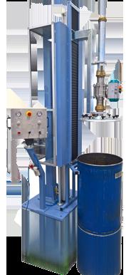 200 liter Drum Filling Machine for Silicone, Acrylic, Polyurethane
